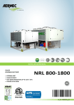 NRL 800-1800 Installation manual