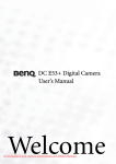 BenQ DC E53 User Guide Manual pdf