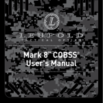 Mark 8™ CQBSS® User`s Manual