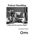 VFIS Participant Guide Lifting and Moving