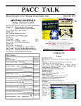 December 2014 PACC TALK issue - Pittsburgh Area Computer Club
