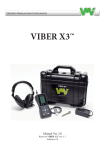 Viber X3 Manual - VMI International AB