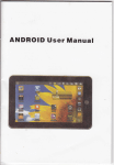 ANDROID User Manual