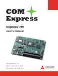 Express-MV User`s Manual
