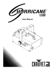 Hurricane™ 1200 User Manual Rev2 EN