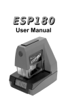 ESP180 Time Stamp User Manual