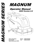 MAGNUM OPERATORS MANUAL - Refurbished Floor Cleaning