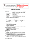 Safety Data Sheet (SDS) - Thai Plastic and Chemicals