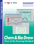 Chem & Bio Draw 12.0 for Windows and Macintosh