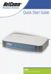 NetComm VMNF300 Quick Start Guide