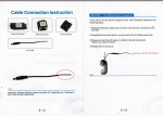 Cable Connection Instruction