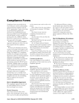 Compliance Forms
