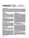 Ademco - 7915 FAST User Manual