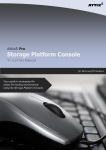 Attix5 Pro Storage Platform Console User Manual