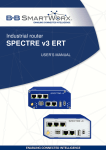 SPECTRE v3 ERT User`s Manual