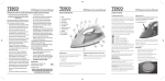 IR19 Steam Iron User Manual IR19 Steam Iron User Manual IR19