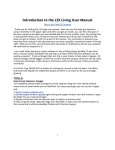 Introduction to the LSX Living User Manual