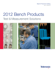 Bench Products Catalog