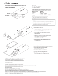 7800mAh Power Bank User Manual