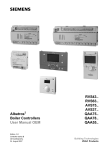 Albatros Boiler Controllers User Manual OEM RVS43.. RVS63