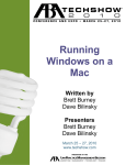 Running Windows on a Mac - American Bar Association