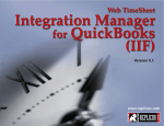 Installing WTS Integration Manager