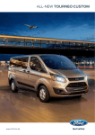 ALL-NEW TOURNEO CUSTOM - Barloworld Ford Alberton