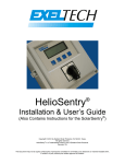 HelioSentry Inst & Users Manual Rev 10J
