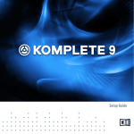 Komplete 9 Setup Guide English