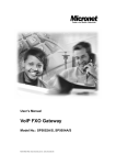 VoIP FXO Gateway - Micronet Communications