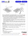 User operation manual - Dahle 533 and 534 guillotine paper cutter