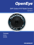 Camera 2MP Outdoor IR IP Bullet Camera Accessories