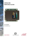 SATA34106 Hardware Manual