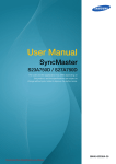 Samsung SyncMaster S27A750D User Guide Manual
