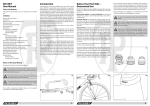 RITCHEY User Manual Introduction Before Your First Ride