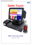 Towa Touch and Geller Touch user Manual - THE-CHECKOUT-TECH