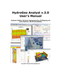 HydroGeo Analyst v.3.0 User`s Manual