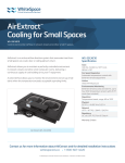 AirExtract™ Cooling for Small Spaces