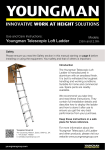 Telescopic Loft Ladder Manual