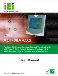 ACT-08A-CX2 All-in-One Access Control Terminal User Manual
