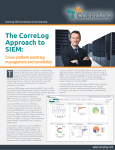 CorreLog SIEM Correlation Server and Compliance Management