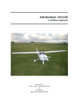 Autonomous Aircraft A nonlinear approach