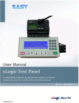 Operate Panel - Siemens Logo, Easy relay