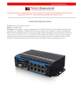 8 Ports PoE Ethernet Switch