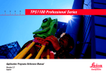 TPS1100 Professional Series