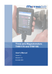 Three-axis Magnetometers THM1176 and TFM1186 User`s Manual