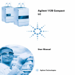 Agilent 1120 Compact LC User Manual