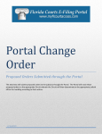 Proposed Orders - Florida Court Clerks & Comptrollers