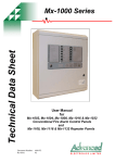 Mx-1000 Series User Manual - Fire & Security Solutions Ltd