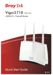 Vigor 2710 Series Quick Start Guide